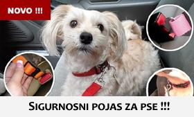 sigurnosni pojas za pse