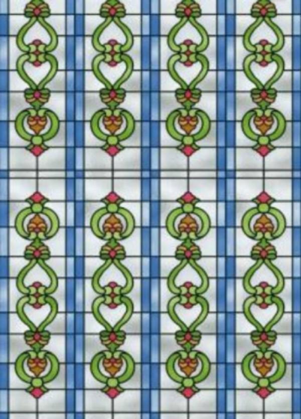 Folija za staklo - vitraž 280-0005