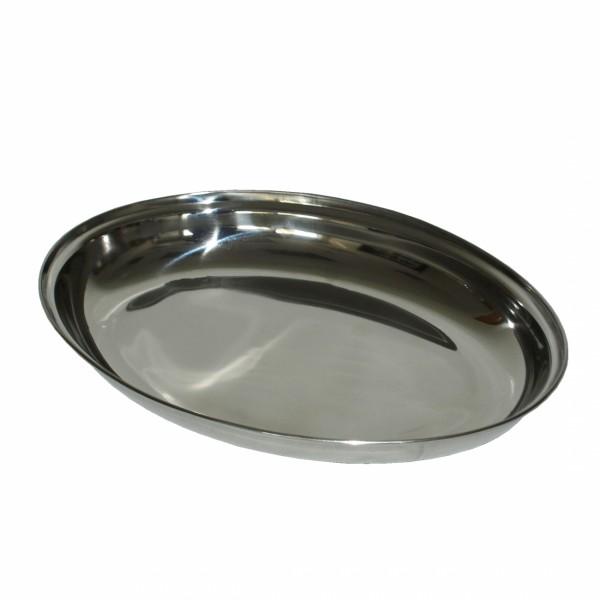 Inox duboki ovalni poslužavnik ( 92-446000 )