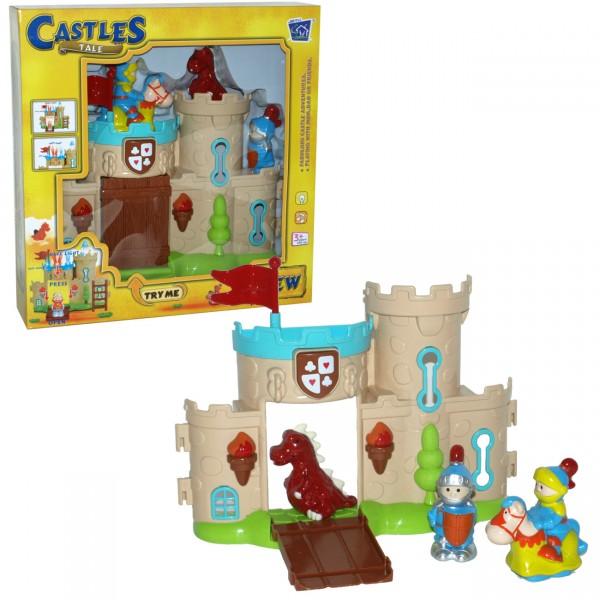 Viteški Dvorac set, svetlo/zvu