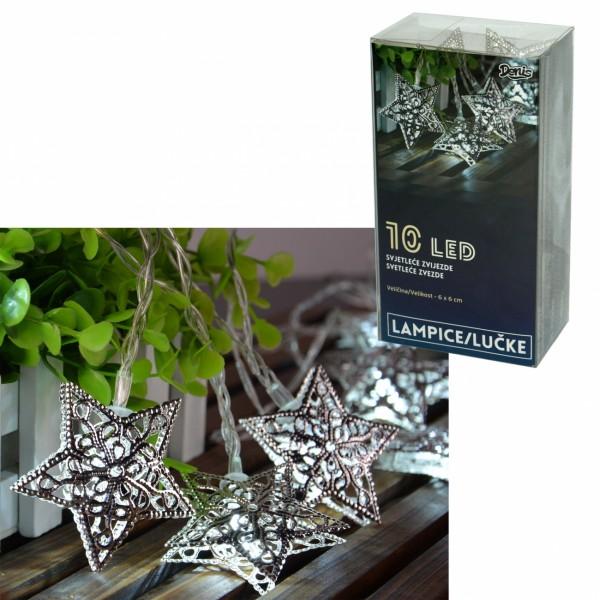 LED svetleće zvezde 10L, 6x6cm ( 52-563000 )