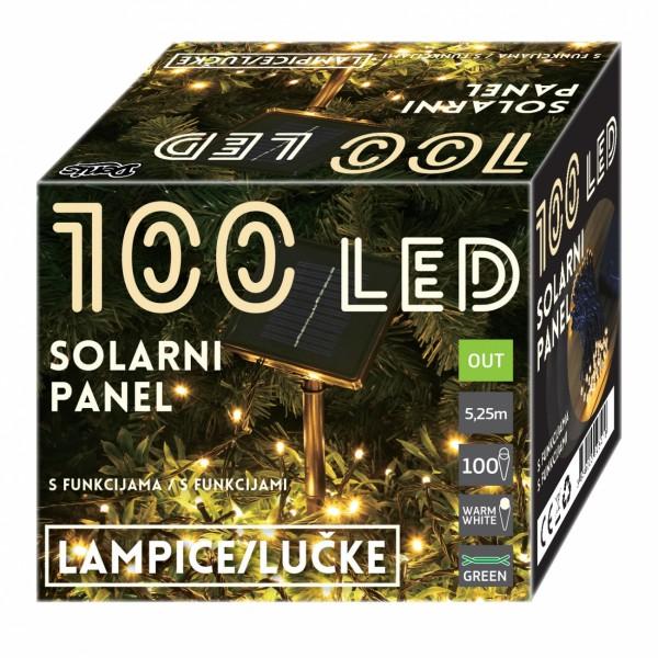 LED Solarni panel 100L, 8 funk ( 52-541000 )