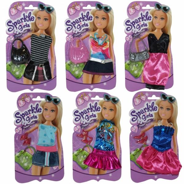 Sparkle Girlz odeća za lutke