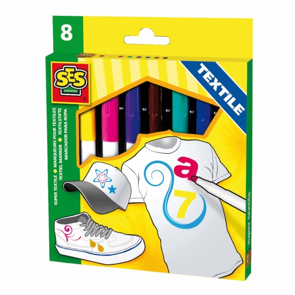 Textile markers 8 colours ( 36-301000 )