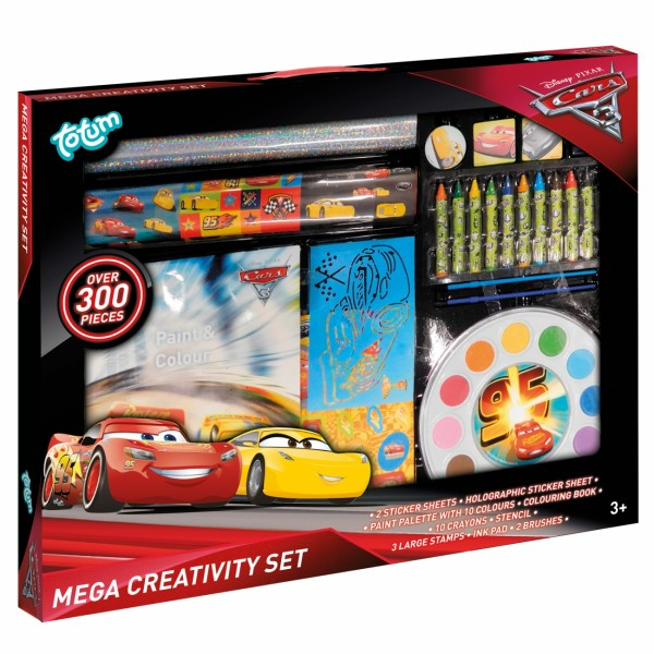 Cars 3  Kreativni set veliki ( 36-201002 )