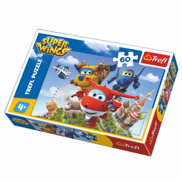 Slagalica 60 Super Wings ( 12-173079 )