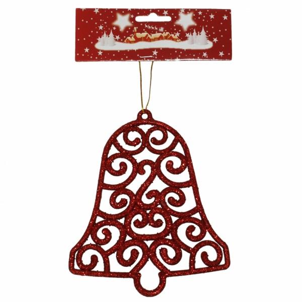 Zvono 15 cm crveno ( 40-643000 )