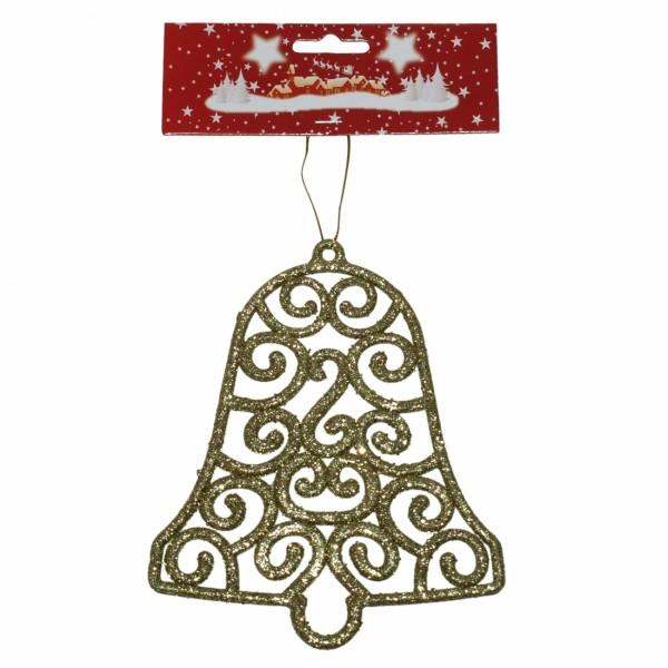 Zvono 15 cm zlatno ( 40-642000 )