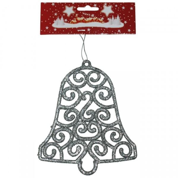 Zvono 15 cm srebrno ( 40-641000 )