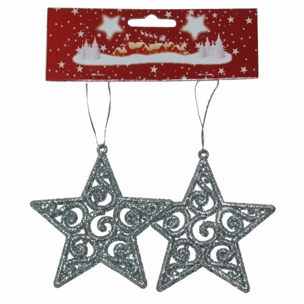 Božićna Zvezda 10 cm 2kom/set ( 40-601000 )
