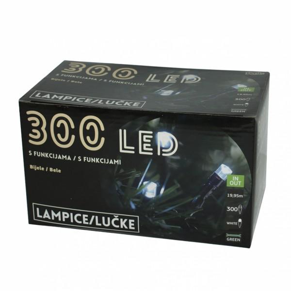 300L LED Lampica, bele, 8 funk ( 52-127000 )