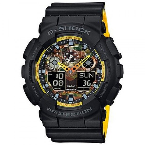 CASIO G-SHOCK GA-100BY-1A