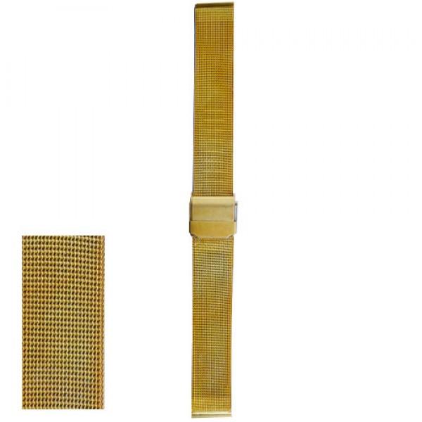 Metalni kais zlatni - ZMK-227 Zlatni 16mm