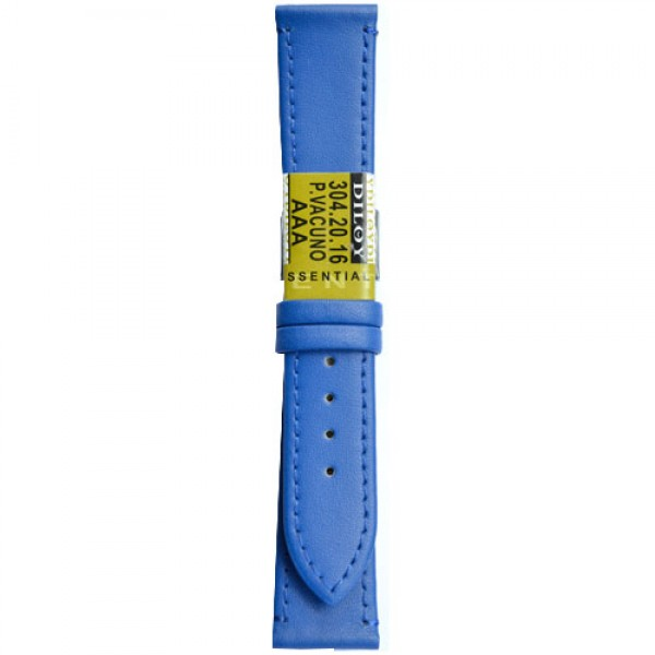 Kozni kais Diloy DIL304.16 Indigo plava boja