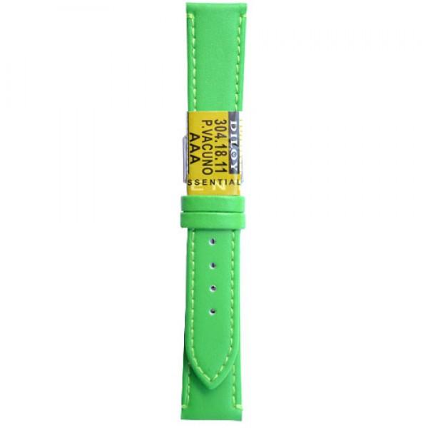 Kozni kais Diloy DIL304.11 Svetlo zelena boja