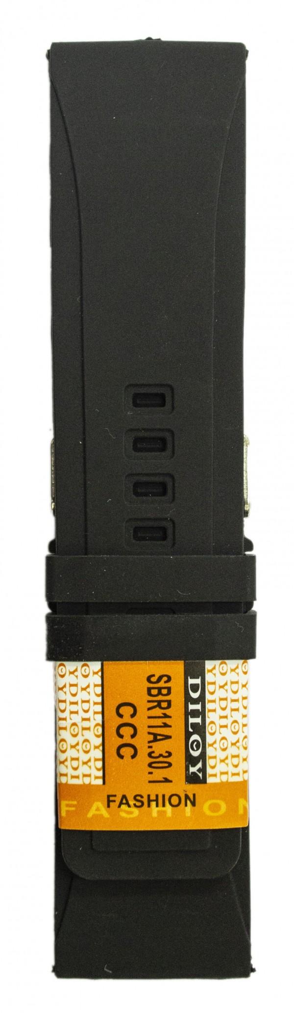 Silikonski kais - SK46 Crna boja 30mm