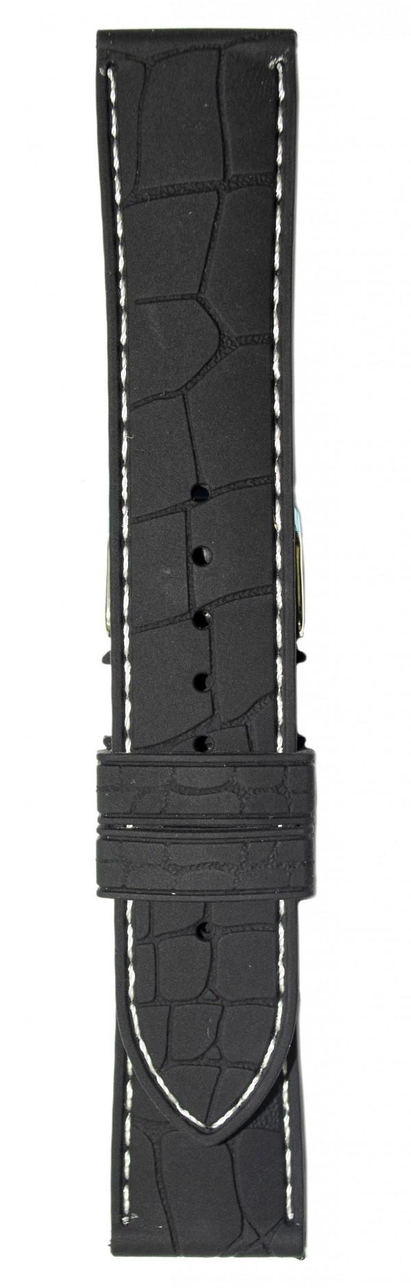 Silikonski kais - SK10 Crna boja 22mm