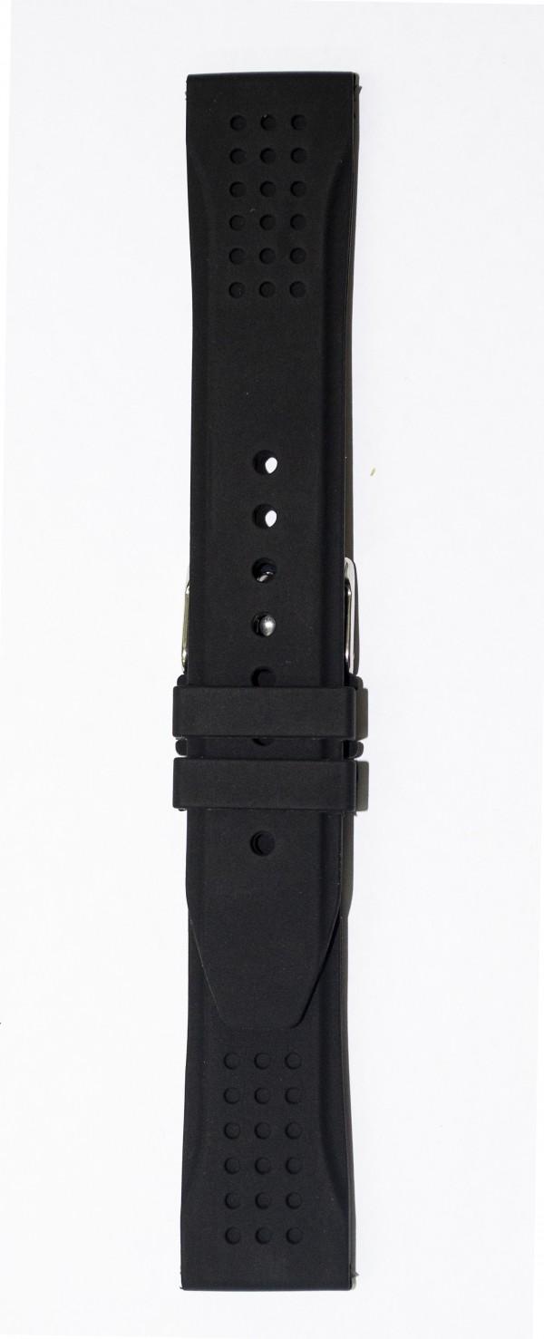 Silikonski kais - SK9 Crna boja 22mm
