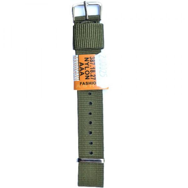 Platneni kais Diloy DIL387.27 (boja Tamno zelena)