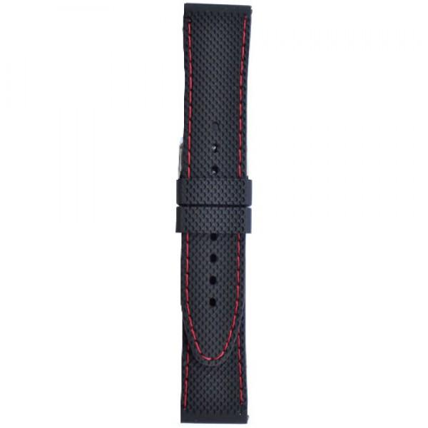 Silikonski kais - SK51 Crna boja 24mm