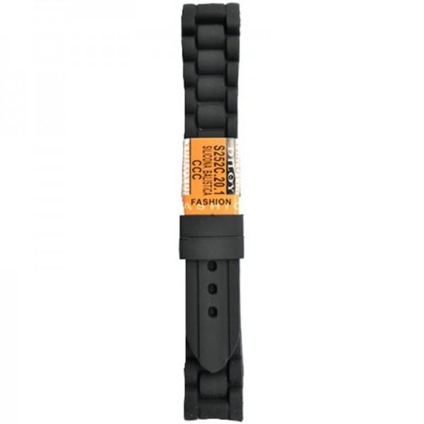 Silikonski kais - SK13 Crna boja 22mm