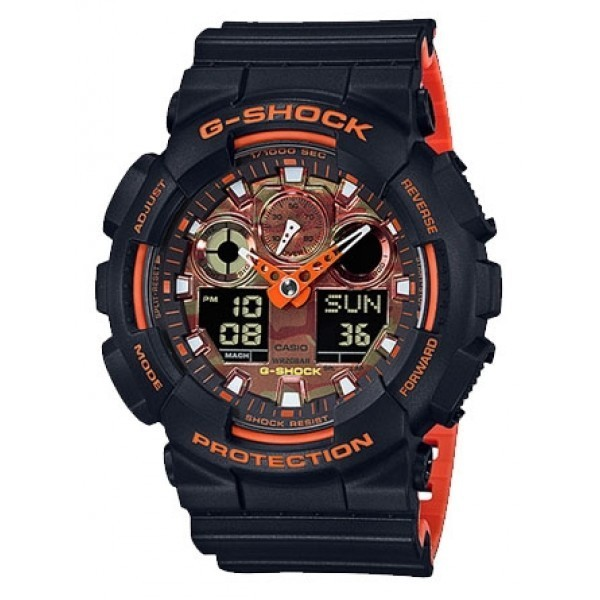 CASIO G-SHOCK GA-100BR-1A