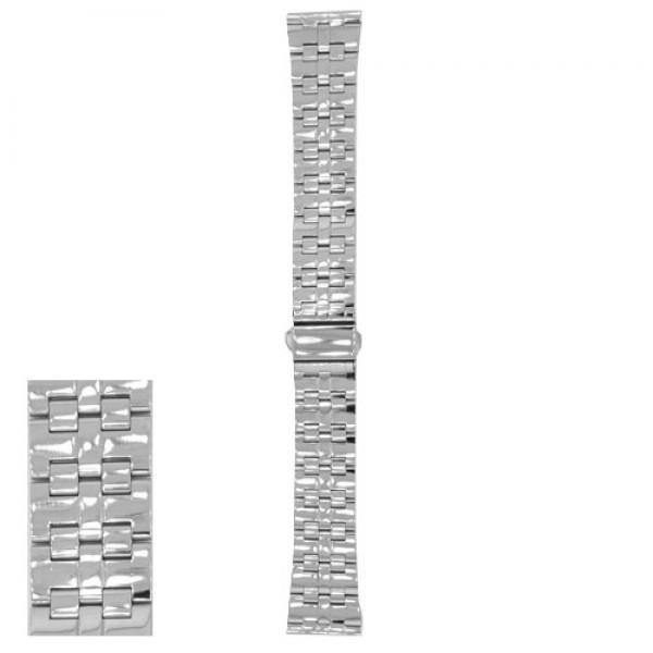 Metalni kaiš - MK53 Srebrni 22mm
