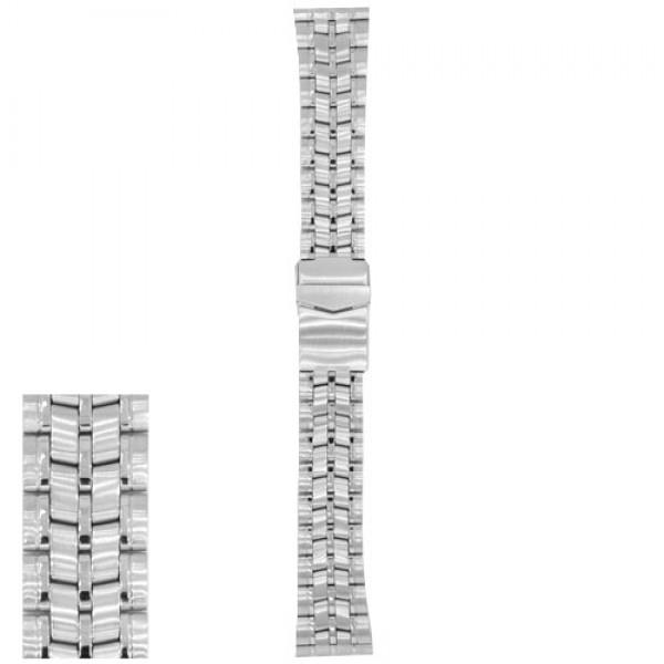Metalni kaiš - MK52 Srebrni 22mm