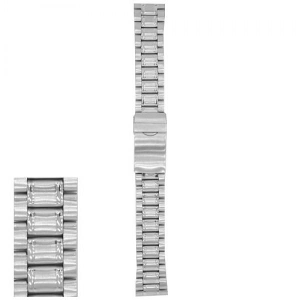 Metalni kaiš - MK39 Srebrni 20mm