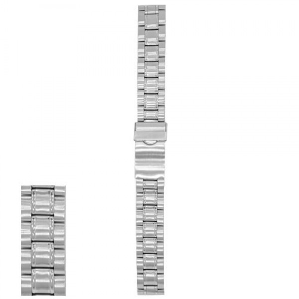 Metalni kaiš - MK23 Srebrni 18mm