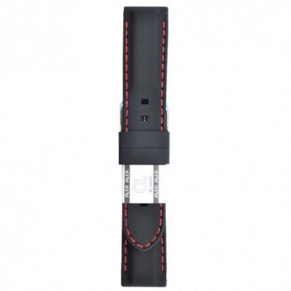 Silikonski kaiš - SK21 Crna boja 22mm