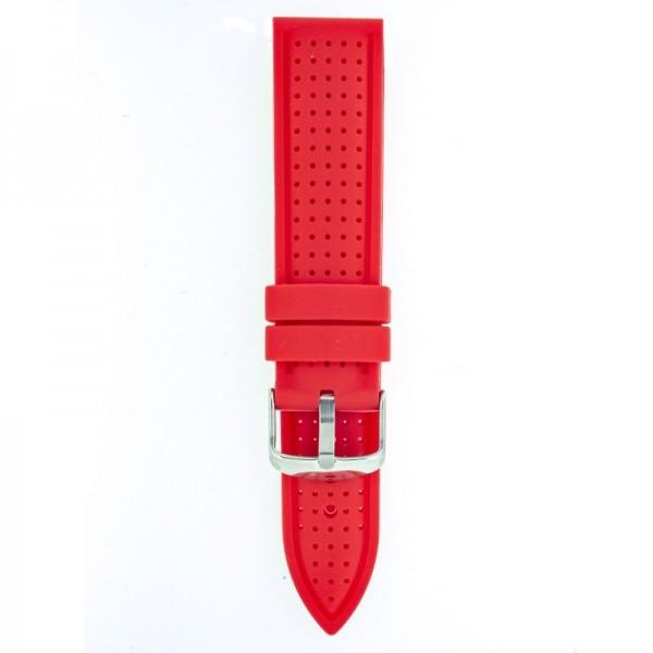 Silikonski kaiš - SK16 Crvena boja 20mm