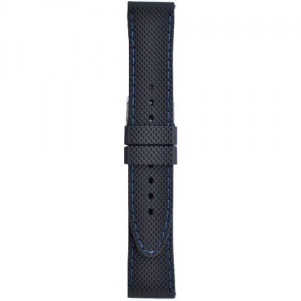 Silikonski kaiš - SK63 Crna boja 24mm