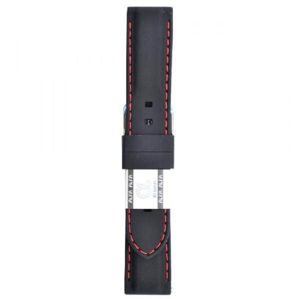 Silikonski kaiš - SK3 Crna boja 18mm