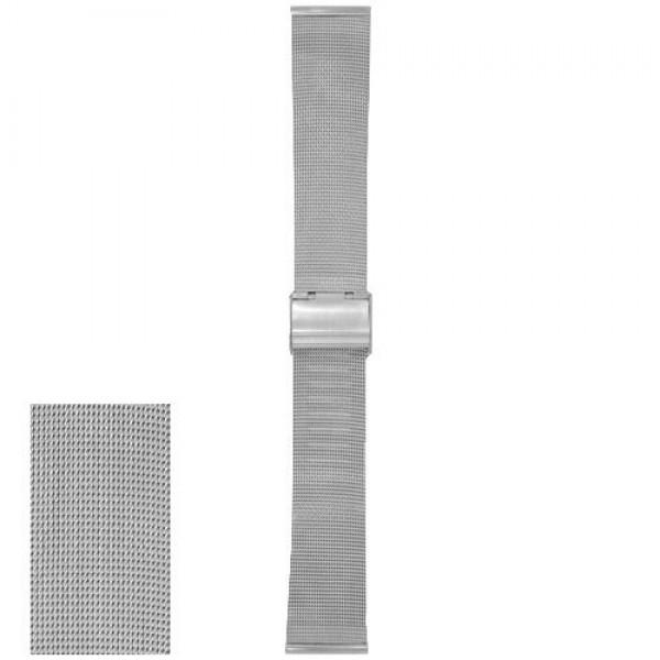 Metalni kaiš - MK44 Srebrni 20mm
