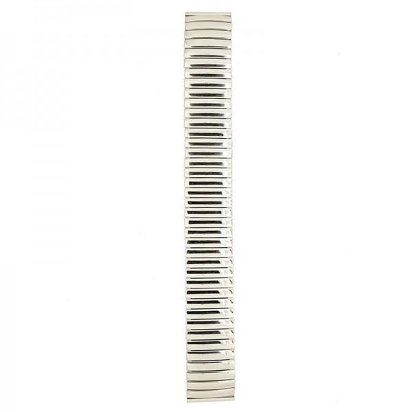 Metalni kaiš - MK28 Srebrni 18mm