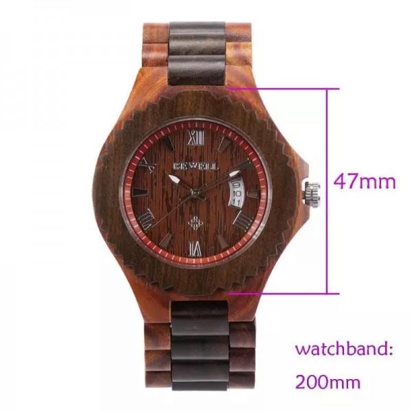 BEWELL muški/ženski sat  3535