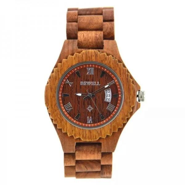 BEWELL muški/ženski sat  3535/wood