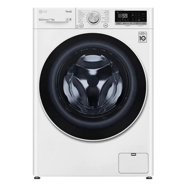 LG Mašina za pranje i sušenje veša F2DV5S7N0E (Bela)