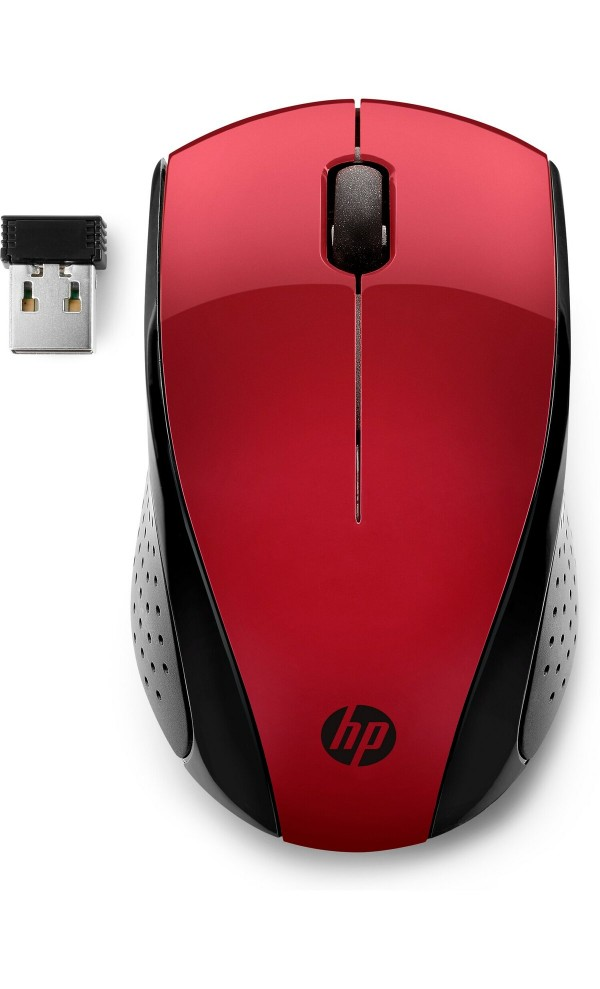 HP Wireless Mouse 220 (Sunset Red) (7KX10AA)