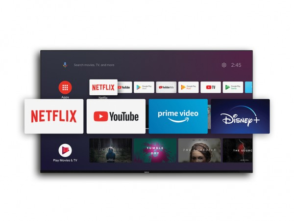 Nokia Smart TV 5500A, 55'' TV LED LCD, 4K UHD, DVB-TT2;DVB-C;DVB-SS2, Android