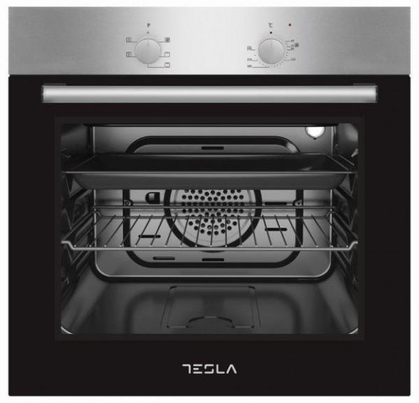 Tesla ugradna rerna BO300SX,6 funkcija,crna-inox