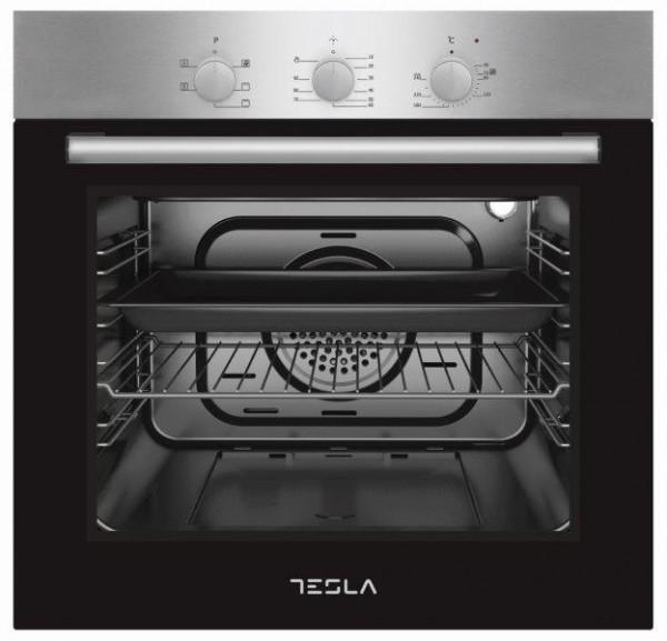 Tesla ugradna rerna BO600SX,6 funkcija,crna-inox