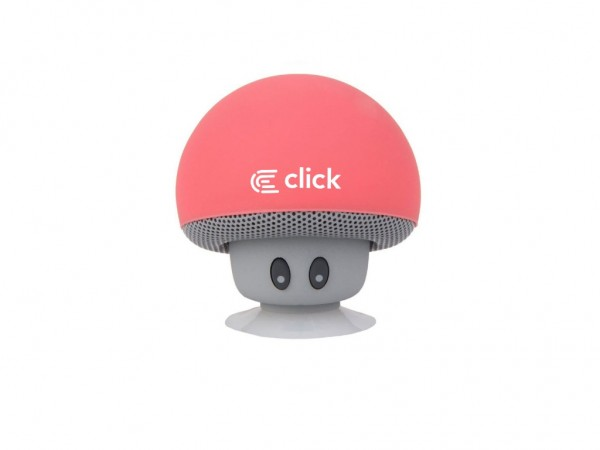 Click BS-R-M Zvucnik bluetooth Mushroom, pink