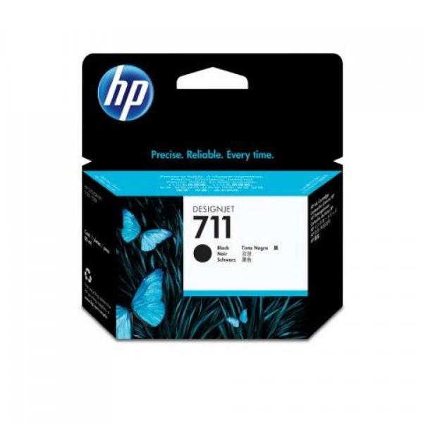 HP No.711 80ml Black  Designjet Ink Cartridge [CZ133A] za plotere T120 T520