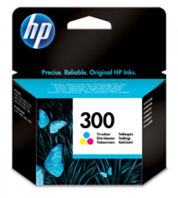 HP No.300 Tri-color Ink Cartridge za DeskJet D1660D2560F2420F2480 [CC643EE]