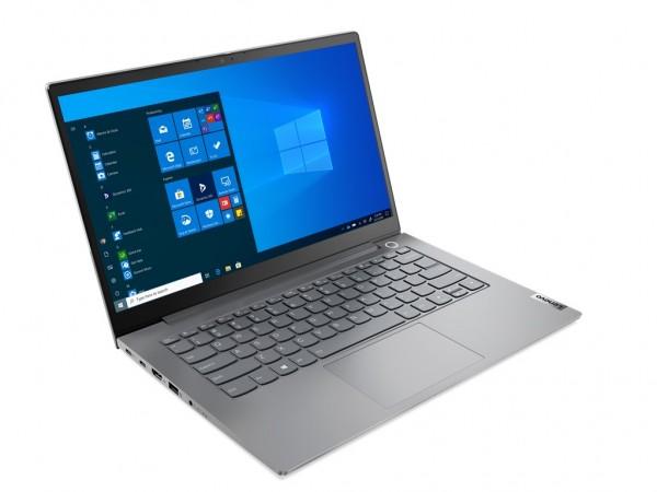 Laptop LENOVO ThinkBook 14 G2 ITL Win10 Pro14''FHDi3-1115G48GB256GB SSDFPRGLANbacklit SRBsiva