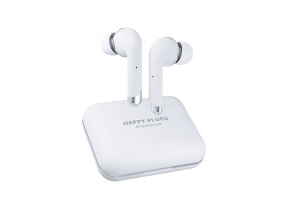 Happy Plugs Air 1 Plus In Ear- White