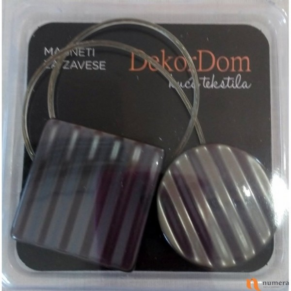 Magnet za zavese B18 - Grey