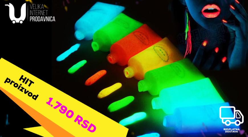 Fluorescentna boja